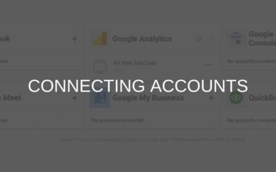 Connecting Your Accounts
